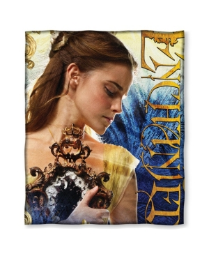 """Beauty & The Beast Enchanted Entertainment HD Silk Touch Throw Blanket, 50"""" x 60"""""""