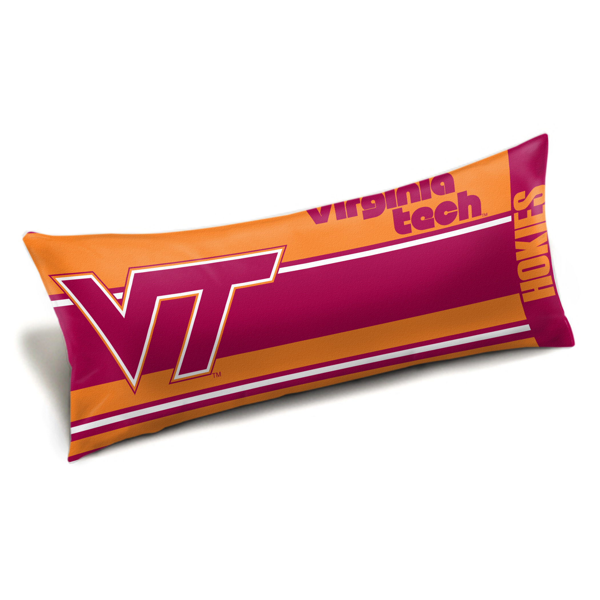 "Virginia Tech OFFICIAL Collegiate ""Seal"" Body Pillow"