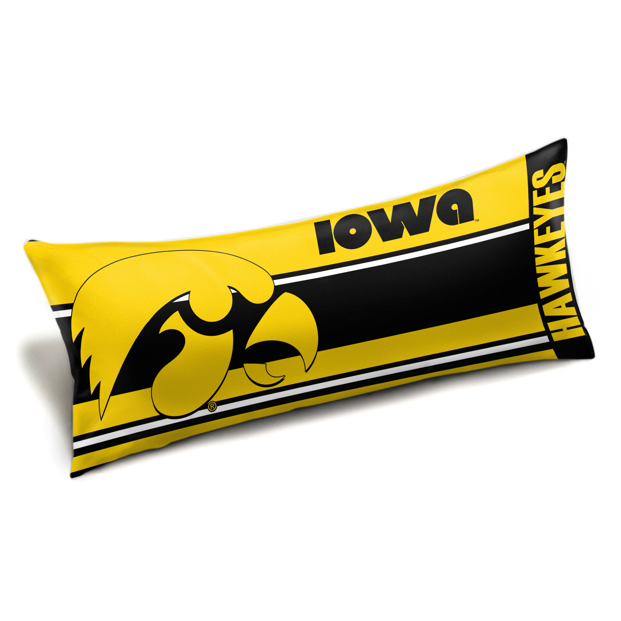 "Iowa OFFICIAL Collegiate ""Seal"" Body Pillow"