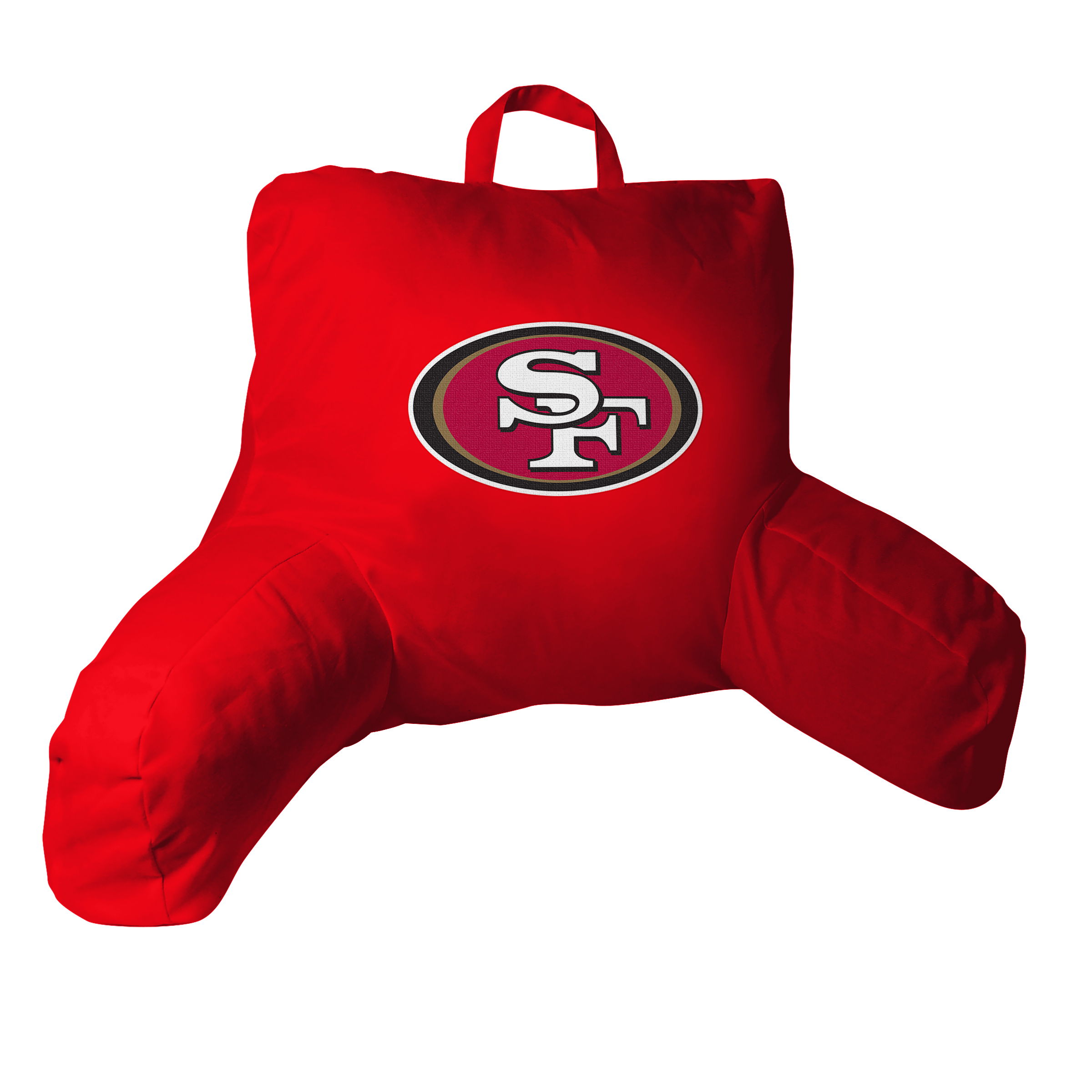 """49ers OFFICIAL National Football League, 20.5""""x 21"""" Bed Rest Pillow  by The Northwest Company"""
