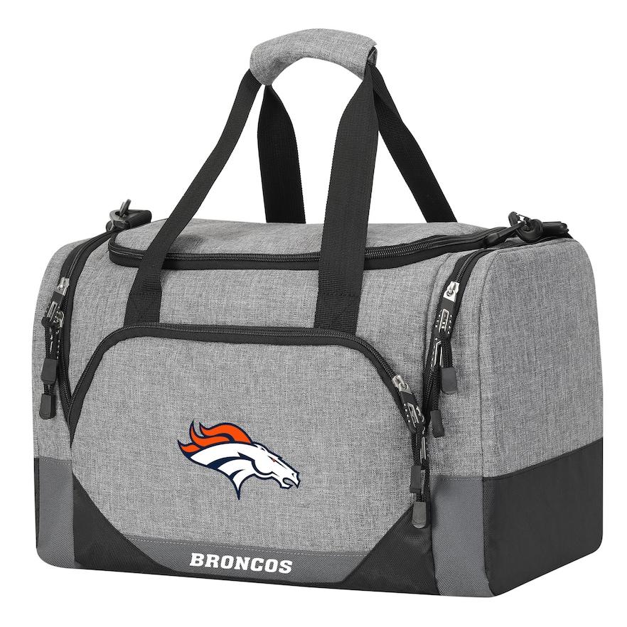 """Broncos OFFICIAL  """"Terrain"""" Duffel Bag, 18"""" x 11"""" x 11"""""""
