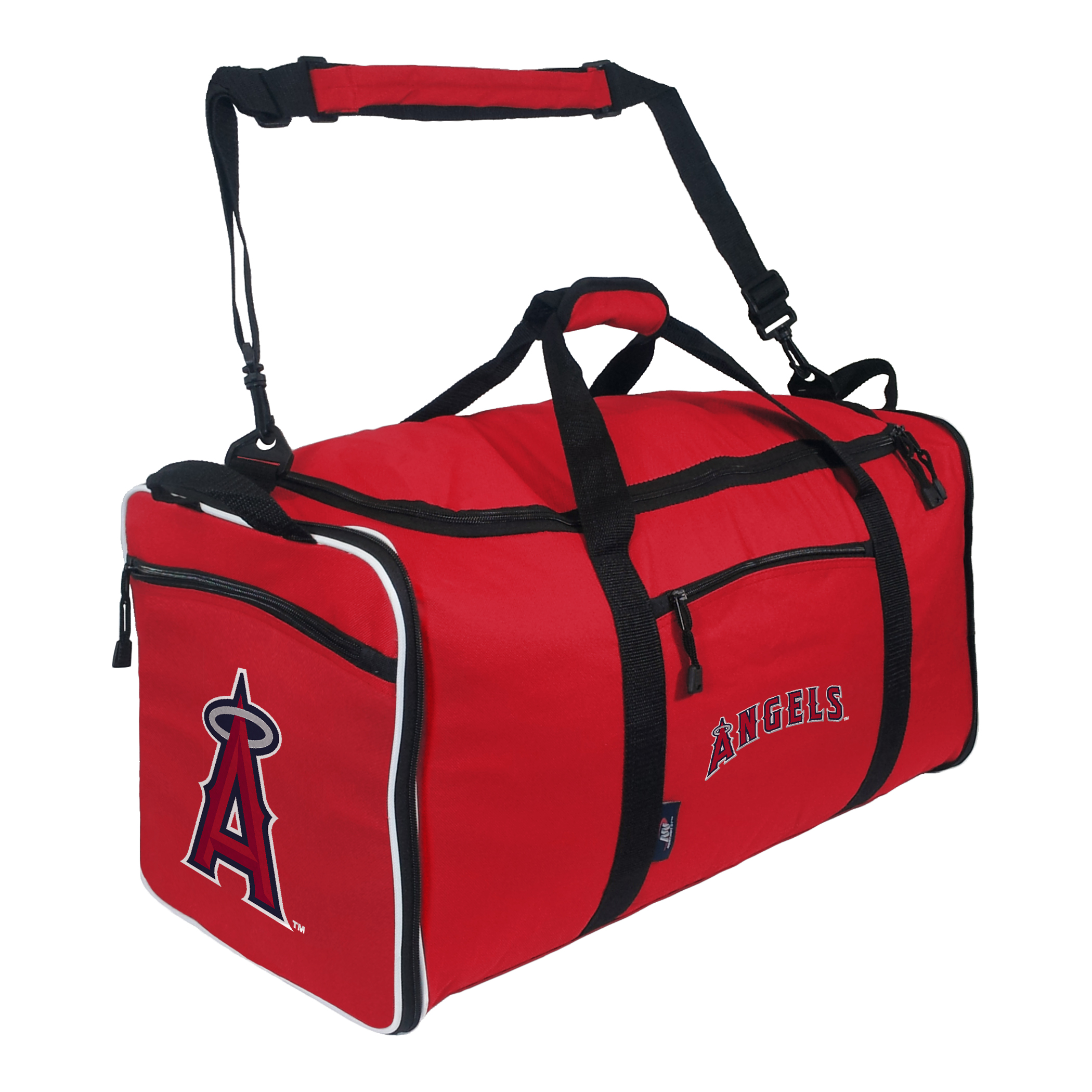"Angels OFFICIAL Major League Baseball, ""Steal"" 12""H x 28""L x 11"" W Duffel Bag  by The Northwest Company"