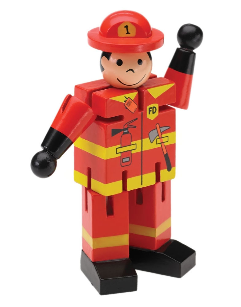 Mini Fireman Display of 12