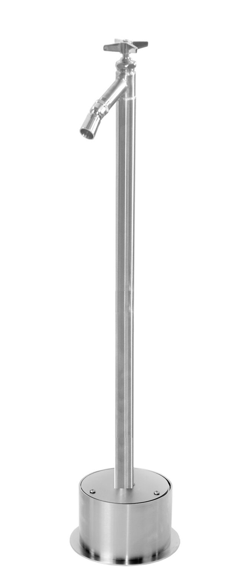 FSFS-200-CHV Free Standing Foot Shower with Cross Handle
