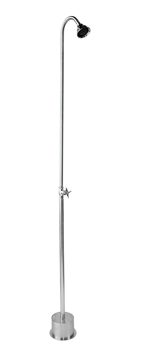 PS-900-CHV Free Standing Single Supply Shower with 3� Shower Head