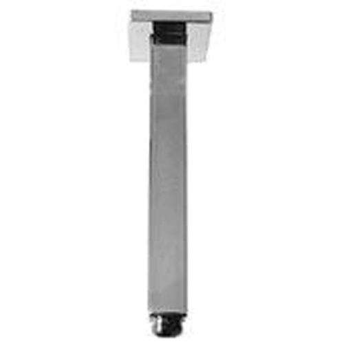 "14"" Square Ceiling Mount Shower Arm in Mirror"
