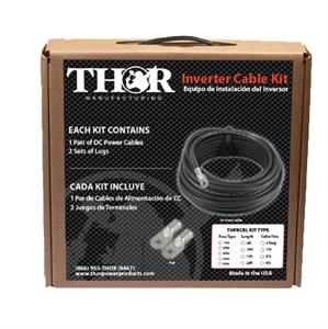 Inverter Cable Set 1/0AWT - 10 Feet