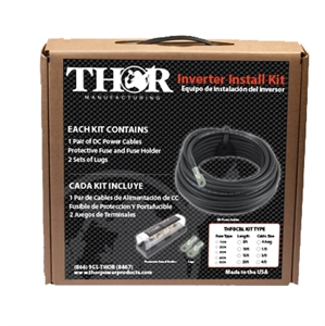 Inverter Install Kit 3/0AWT- 15ft Cable Sets