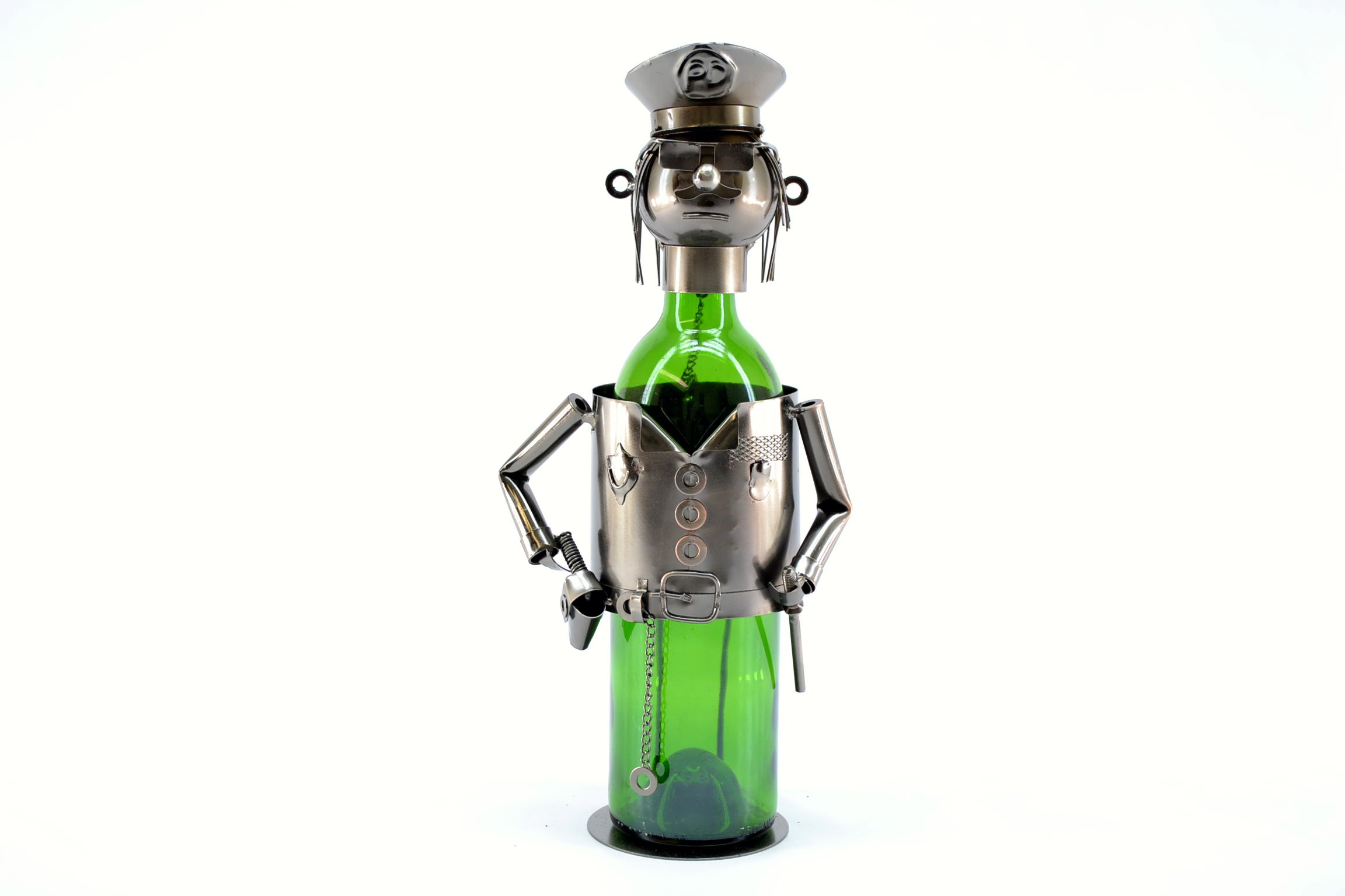 Policeman Wine Bottle Holder