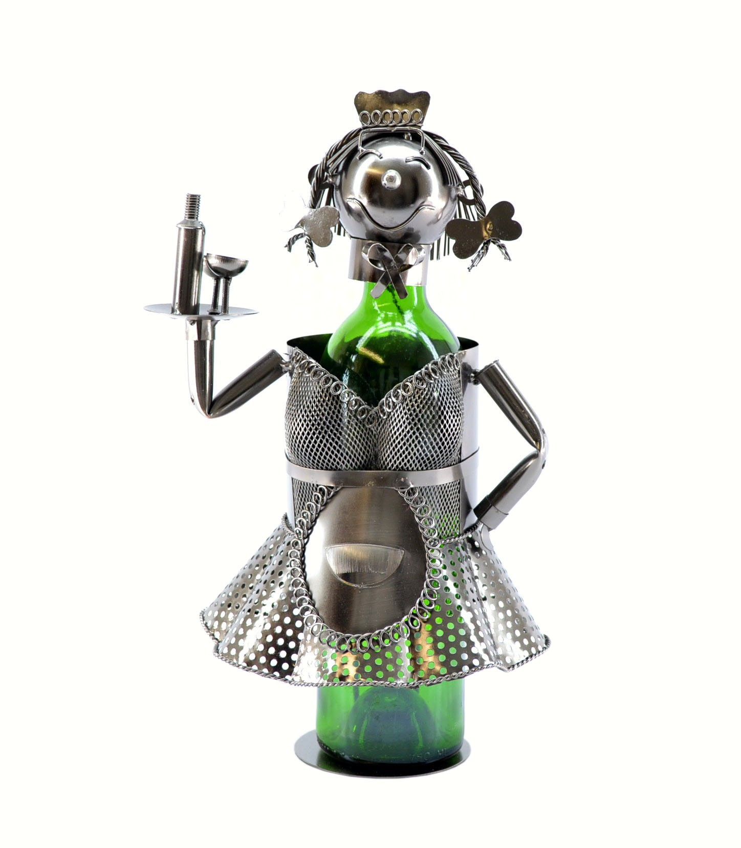French Waitress Wine Bottle Holder