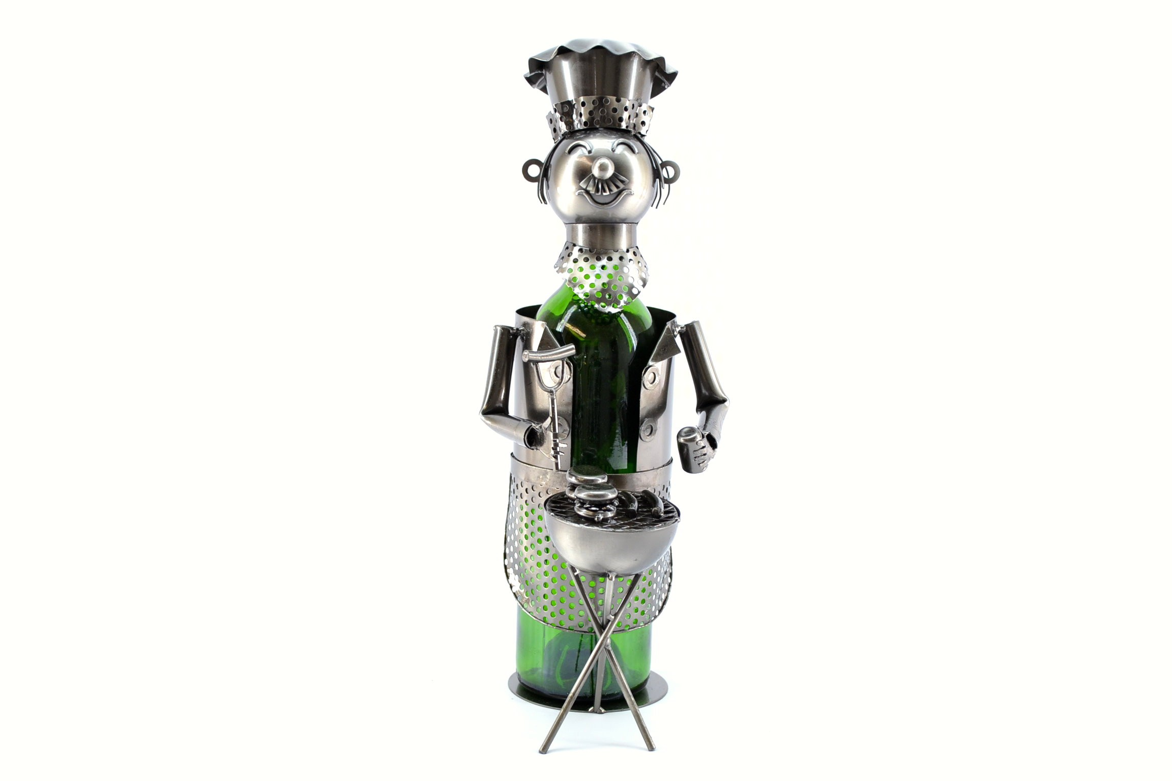 BBQ Chef Wine Bottle Holder