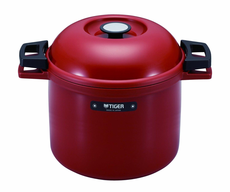 Tiger Nfhg450Rj Red Thermal Magic Cooker 4.5 L