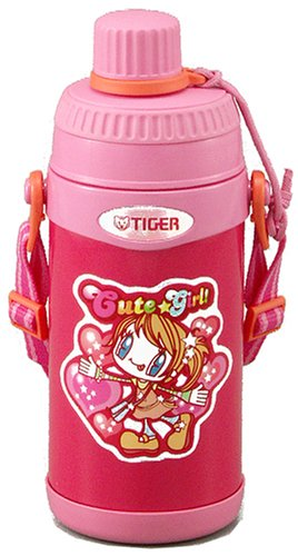 TIGER MMDB060PB PINK DIRECT DRINK THERMOS BOTTLE 16OZ WITH