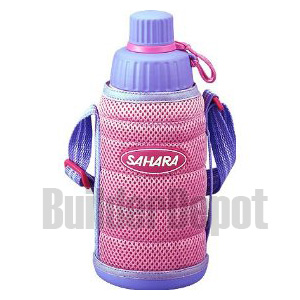 TIGER MMMA060P PINK SPORTS BOTTLE COLD ONLY SHOULDER STRAP