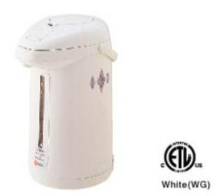 TIGER PFUG22U WATER HEATER ELECTRIC 2.2 LiTER REMOVABLE LID