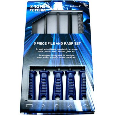 5-PIECE FILE SET