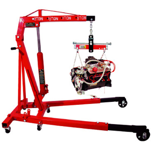 2 TON FOLDABLE ENGINE HOIST WITH LOAD LEVELER