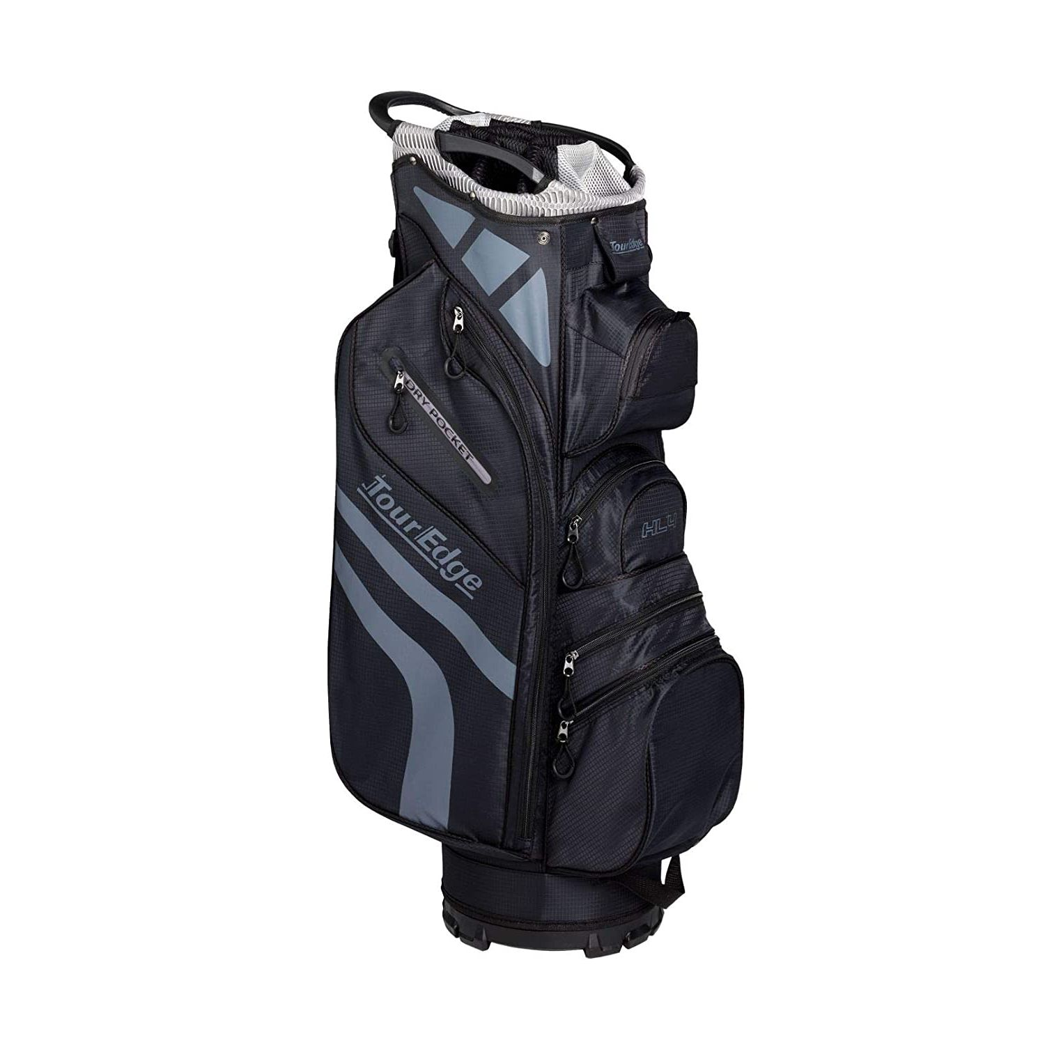 Tour Edge Hot Launch HL4 Golf Cart Bag-Black Silver