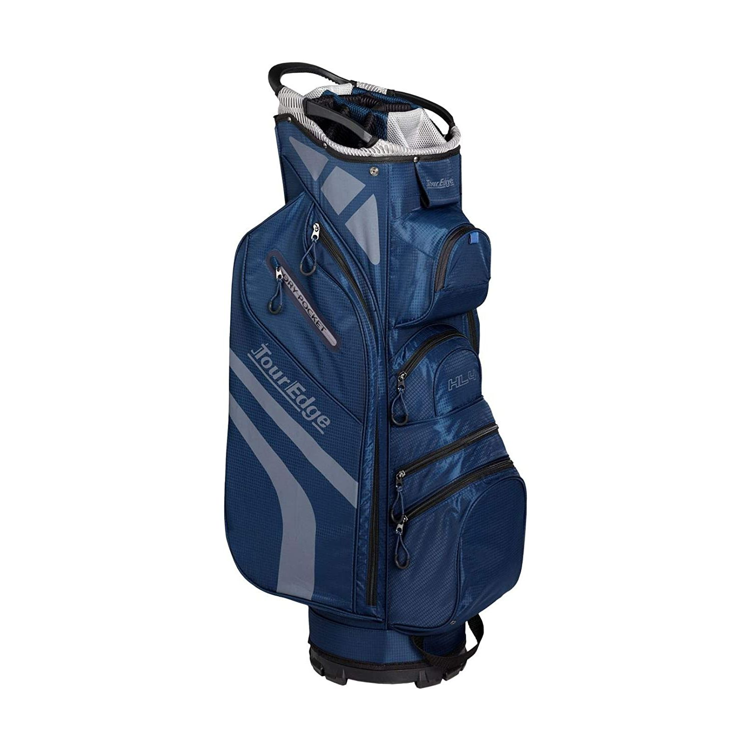 Tour Edge Hot Launch HL4 Golf Cart Bag-Navy Silver