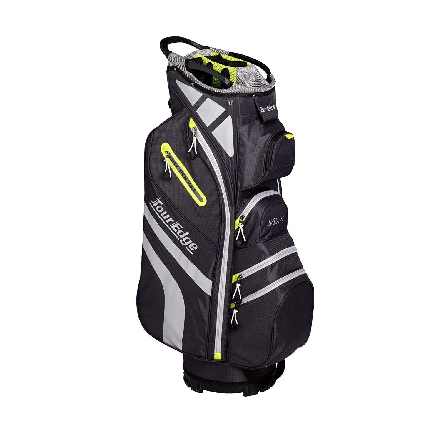 Tour Edge Hot Launch HL4 Ladies Golf Cart Bag-Silver Lime