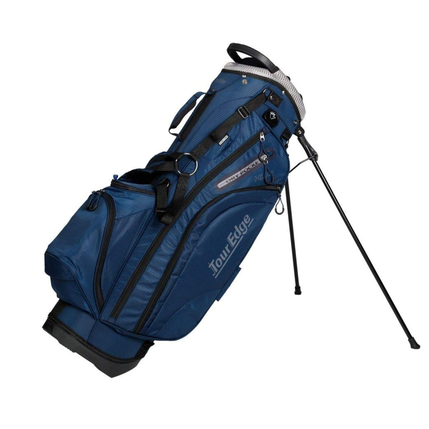 Tour Edge Hot Launch HL4 Golf Stand Carry Bag-Navy Silver