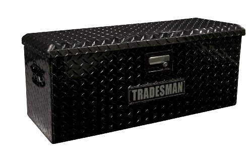 "32"" Aluminum ATV Storage Box, Black"