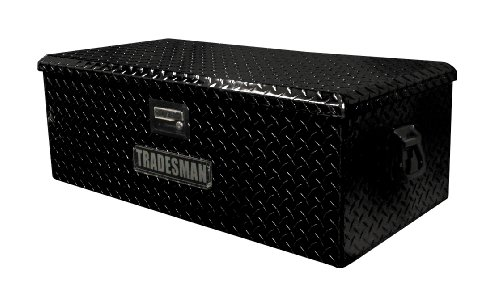 "36"" Aluminum ATV Storage Box, Black"