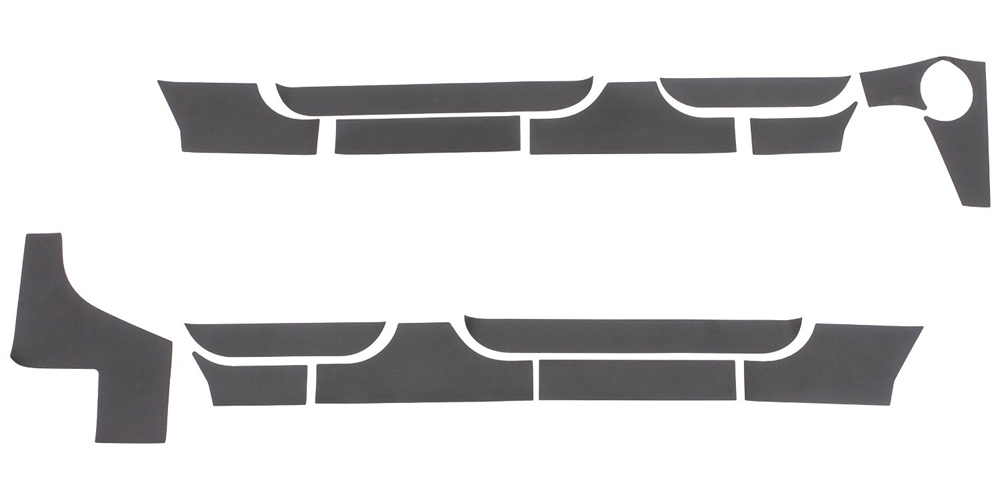 RHINO LININGS ROCKER GUARDS-SM