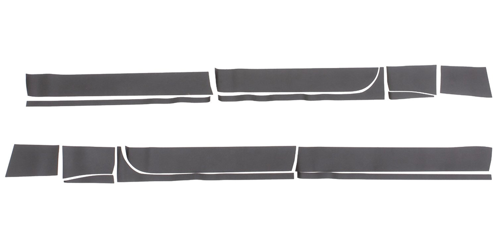 RHINO LININGS ROCKER GUARDS-LG