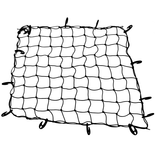Tradesman Truck Accessories, LLC Universal Car Storage Rooftop Cargo Netting with Reinforced Hooks, 7.5-inches by 5.1-inches, Black Finish per EA at Sears.com