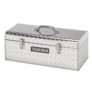 "Tradesman Truck Accessories, LLC 24"" Aluminum Handheld Tool Box at Sears.com"
