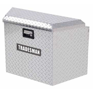 "21"" Aluminum Trailer Tongue Tool Box"