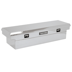 "72"" Aluminum Cross Bed Tool Box"