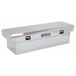 "71"" Aluminum Cross Bed Tool Box"