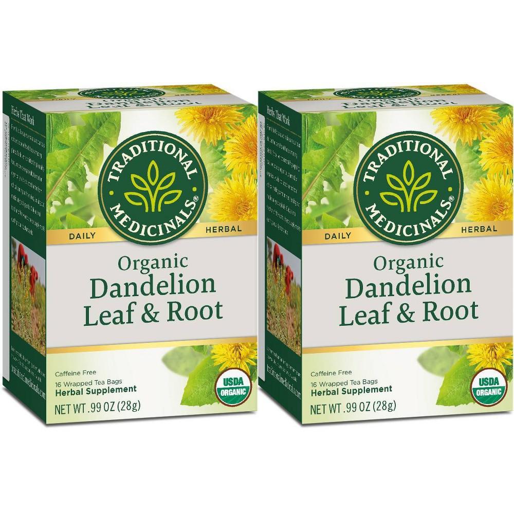Tea - Organc - Hrbl - Dndln Leaf Rt ( 6 - 16 BAG )