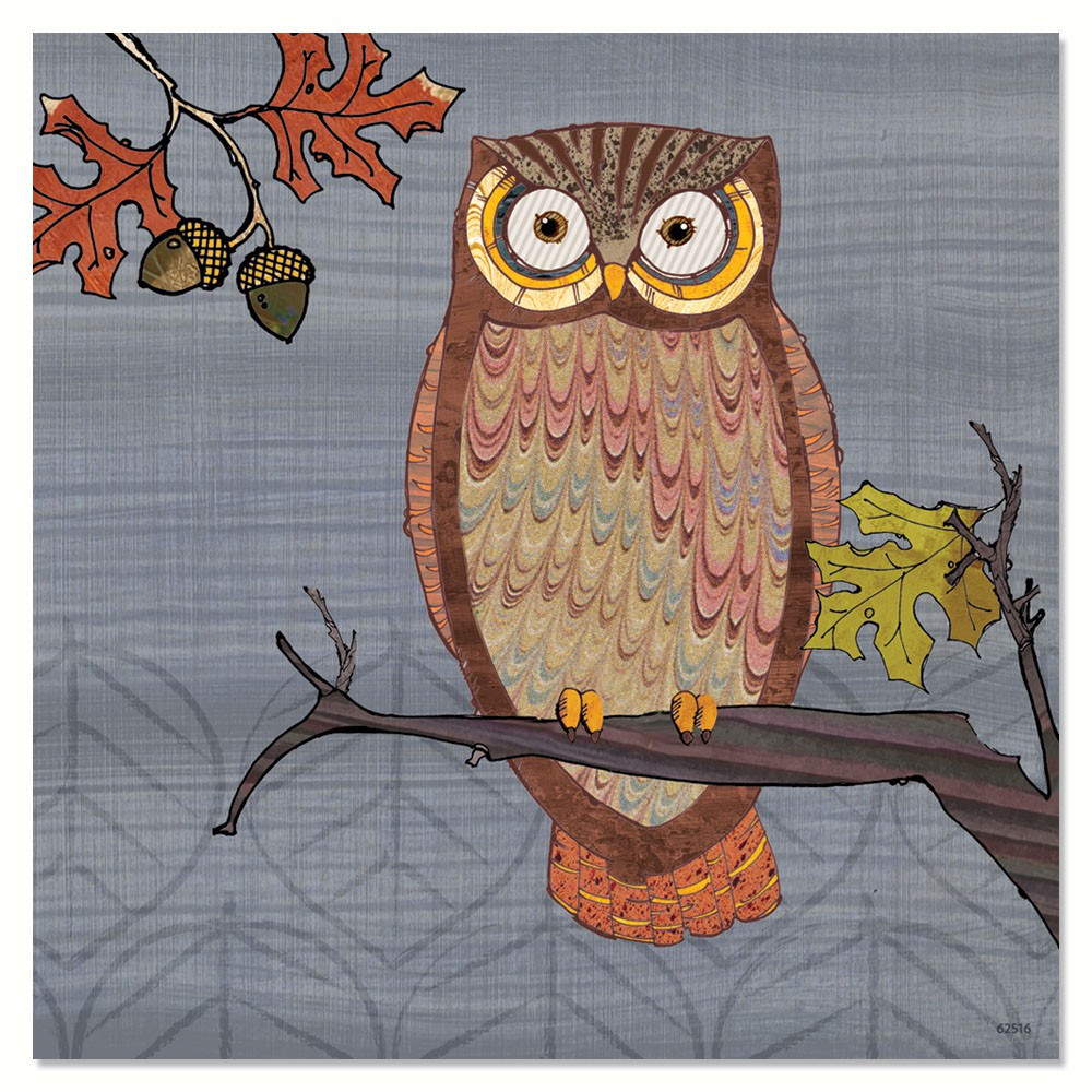Awesome Owls II Magnet