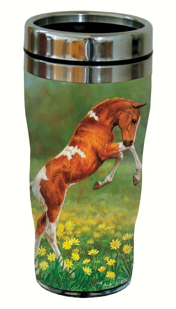 Dances with Daisies Travel Tumbler