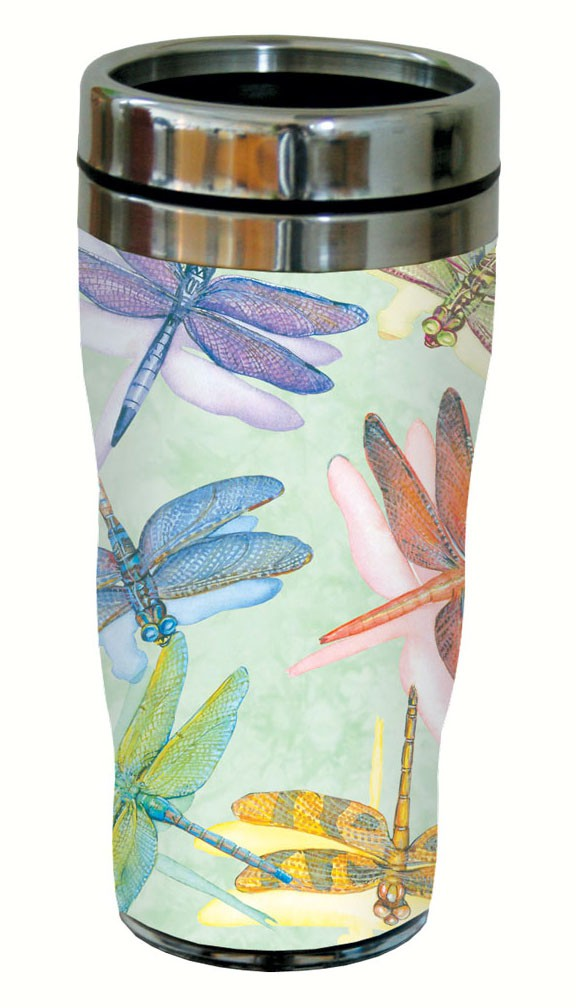 Dragonflies Travel Tumbler