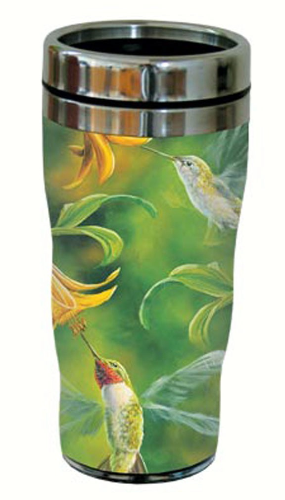 Ruby Wings Travel Tumbler