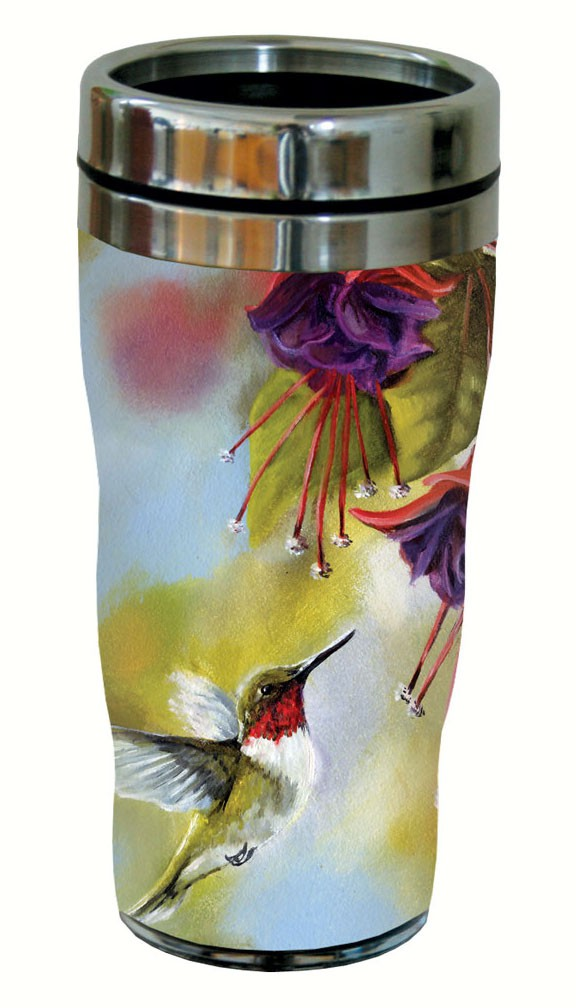 Ruby and Fuchsia Travel Tumbler