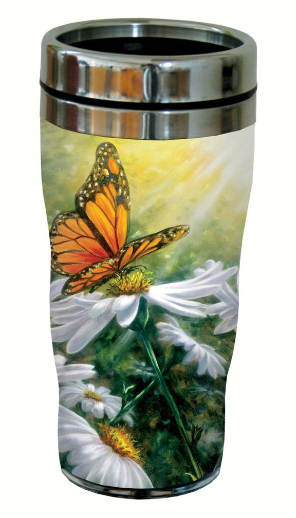 Rays of Light Travel Tumbler