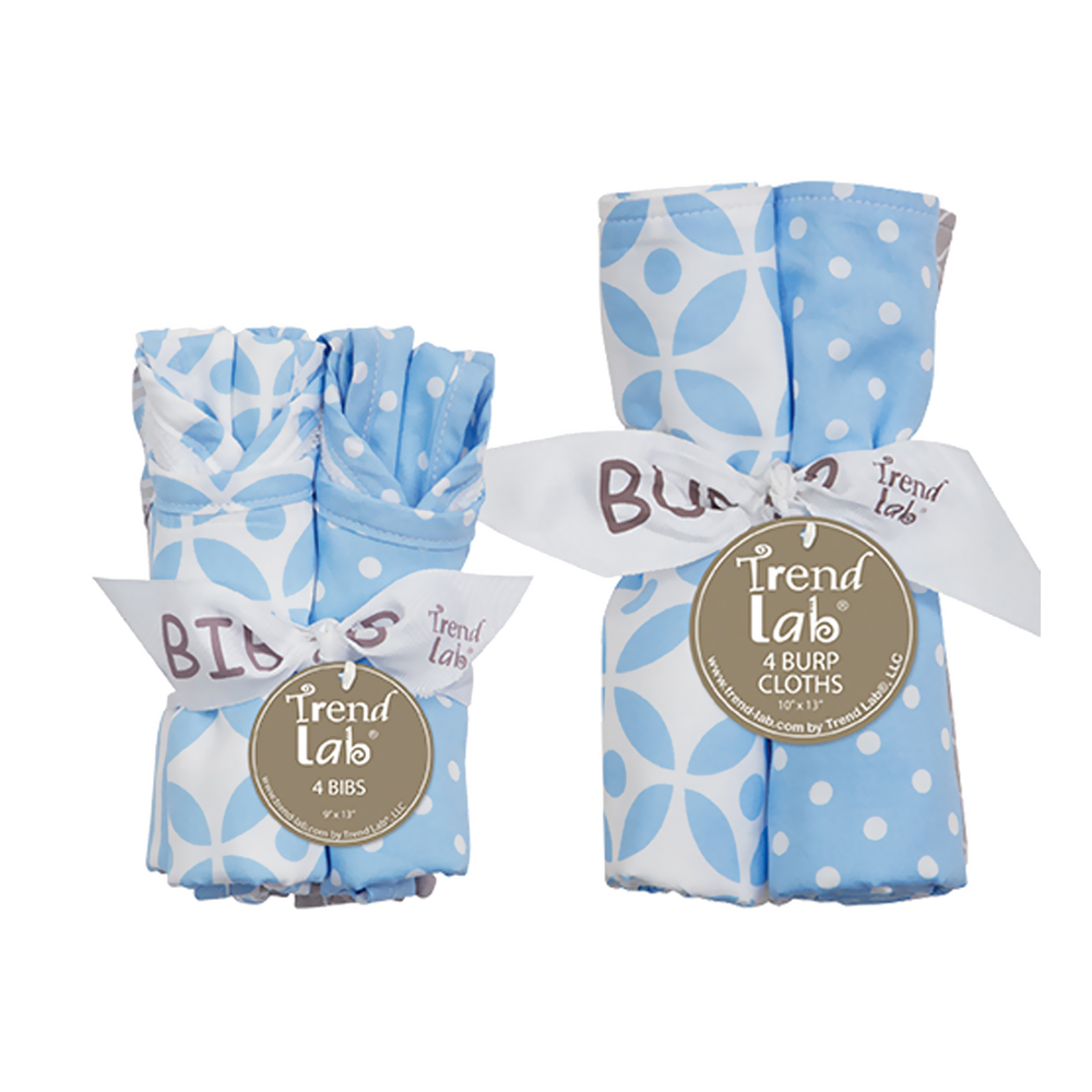 Bouquet Set - Logan - Bib & Burp Cloth