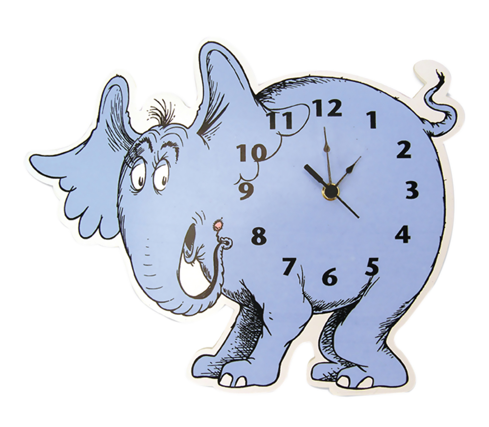 Wall Clock - Dr. Seuss Horton