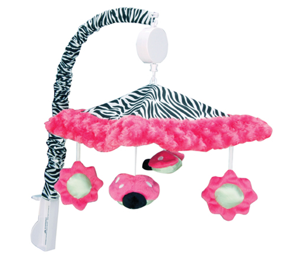 Trend Lab Baby Bedding Zahara Musical Mobile Play Toy