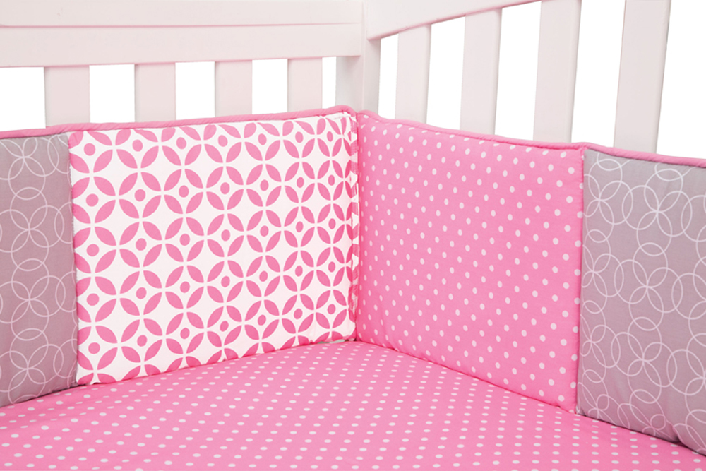 Trend-Lab Lily - Crib Bumpers