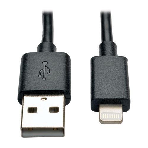 "10"" Lightning USB Cable Black"