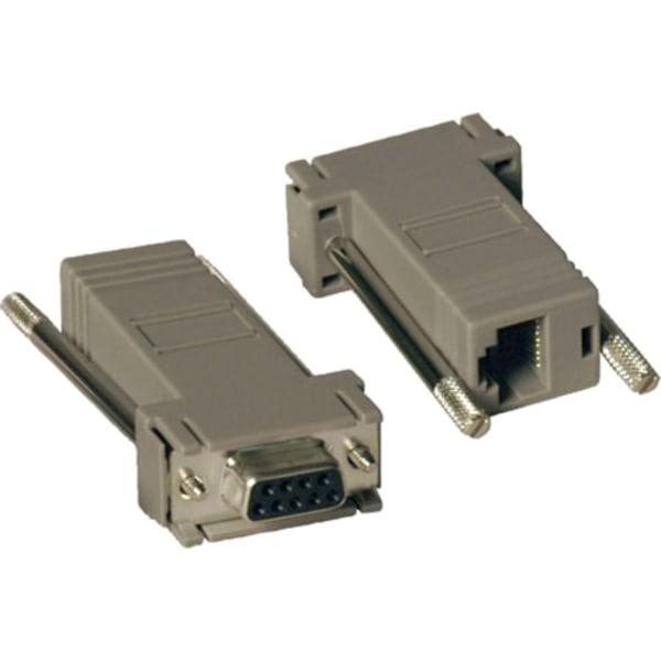 2PC RJ45 to DB9 Null Modem Ada