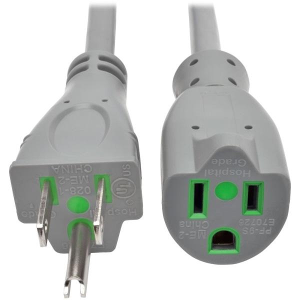 6ft Hospital Power Cord 15A