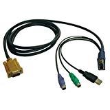 10ft USB/PS2 KVM Cable Kit