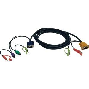 10' VGA/PS2/Audio KVM Cable Ki